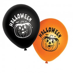 Balonky Halloween s potiskem - 20ks