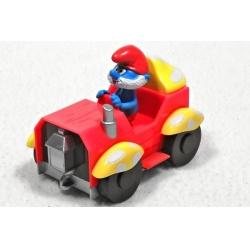 The Smurfs - Taťka Šmoula v autě