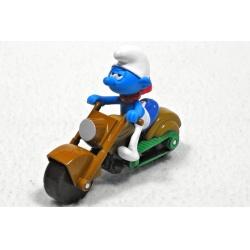 Šmoula Bolístka na motorce