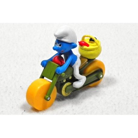 Šmoula Farmář na motorce