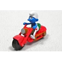 Šmoula Stopař na motorce