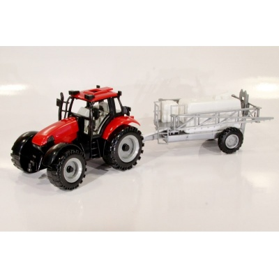 Model Traktor s postřikovačem - 1:27