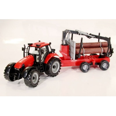Model Traktor s kládami - 1:27