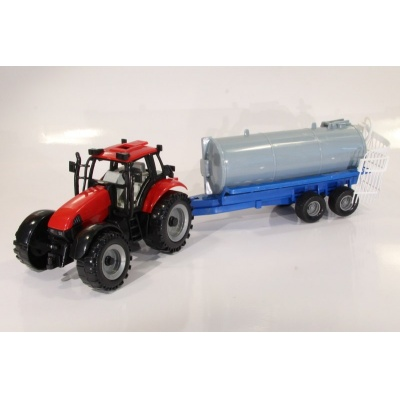 Model Traktor s cisternou - 1:27