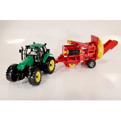 Model Traktor s třídičkou - 1:27