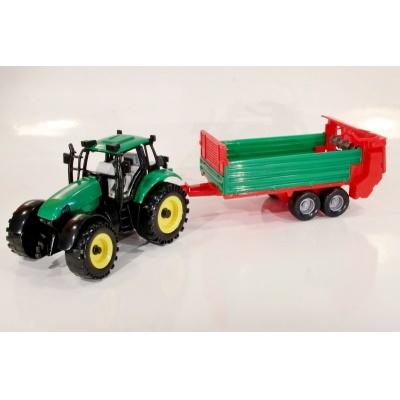 Model Traktor s vlečkou - 1:27
