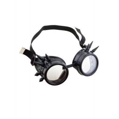 Brýle steampunk - černé