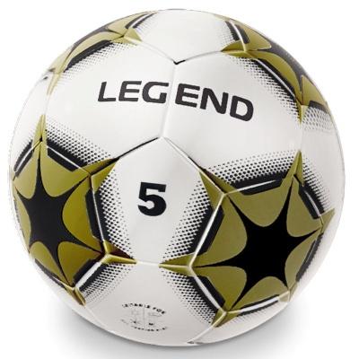 Fotbalový míč šitý Legend - zlatý