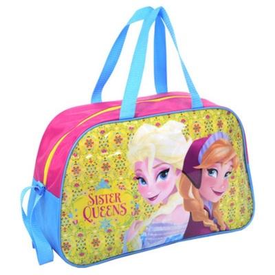 Dětská sportovní taška kabela žlutá Frozen Ledové království