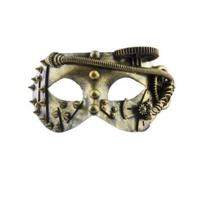Maska škraboška - steampunk