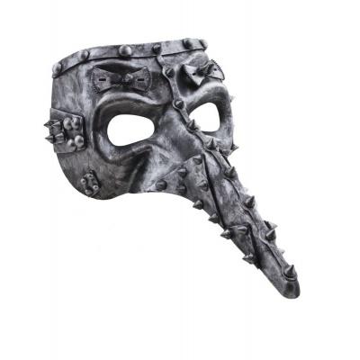 Maska s dlouhým nosem - steampunk