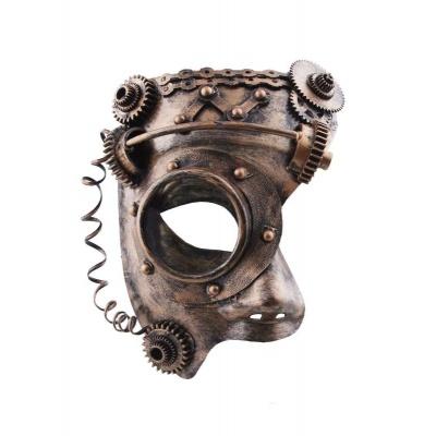 Půlmaska - steampunk