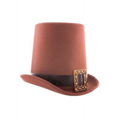 Dobový klobouk cylindr - steampunk
