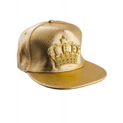 Zlatá čepice raper koruna