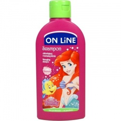 On line kids Ariel 2v1 šampon Malina 250ml
