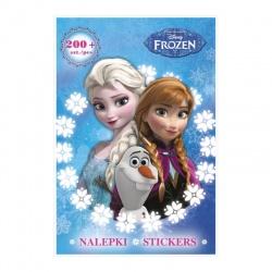 Kreativní sešit omalovánky a 200 samolepek Frozen Ledové království