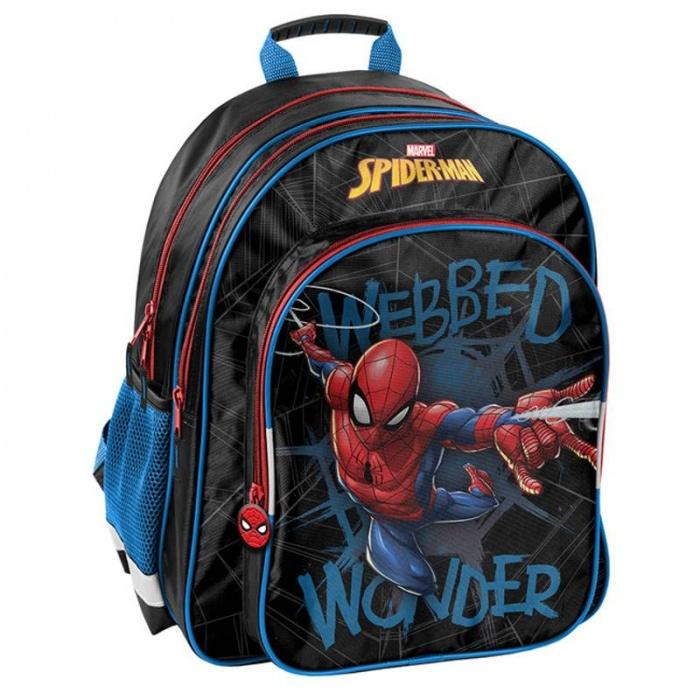 Školní dvoukomorový batoh Spiderman - ajom.cz de0decd277