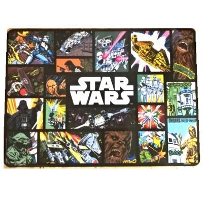 Podložka na jídelní stůl prostírání - Star Wars tmavé