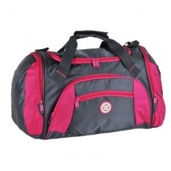 Sportovní cestovní taška kabela na rameno - růžová