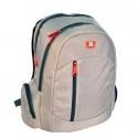 Studenstký školní batoh - šedý