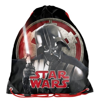 Školní pytel vak sáček černý Star Wars Hvězdné války