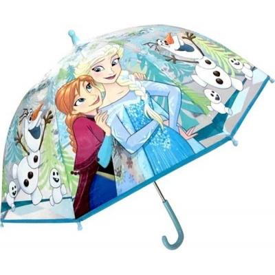 Deštník manual průhledný - Frozen