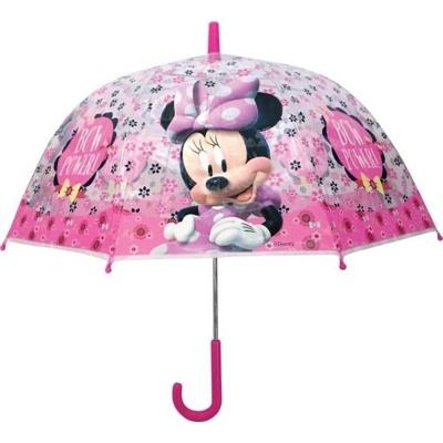 Deštník manual průhledný - Minnie