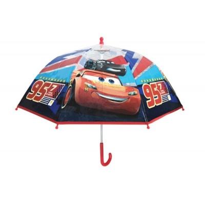 Deštník manual průhledný - Cars 3