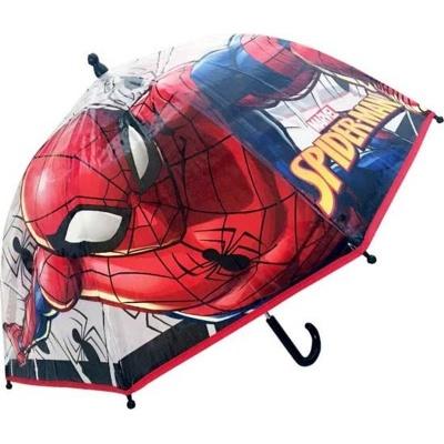 Deštník manual průhledný - Spiderman