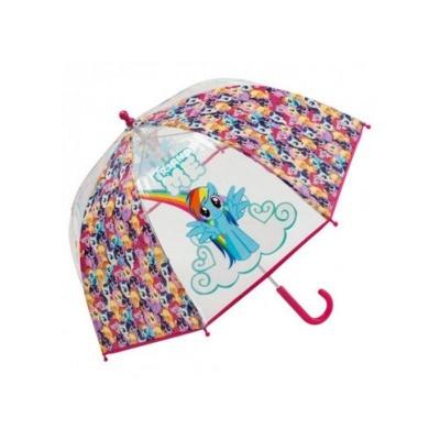 Deštník manual průhledný - My Little Pony