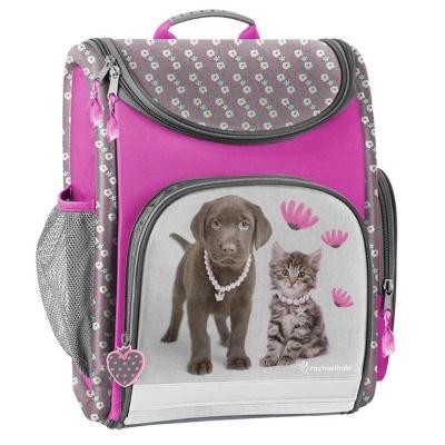 Luxusní školní batoh aktovka pejsek a kočka i pro prvňáčky