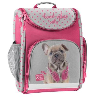 Luxusní školní batoh aktovka Pejsek i pro prvňáčky