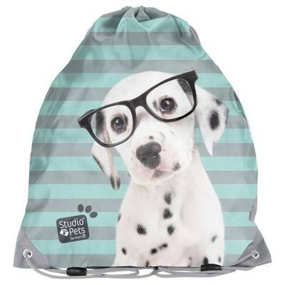 Školní pytel vak sáček Pes s brýlemi
