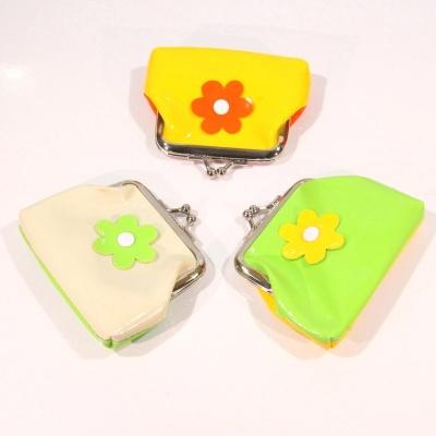 Dětská peněženka - kytky