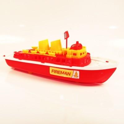 Záchranářská loď Hasiči 30cm - lodička do vody