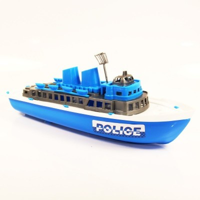 Záchranářská loď Policie 30cm - lodička do vody