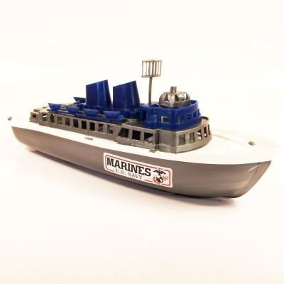 Záchranářská loď vojenská 30cm - lodička do vody