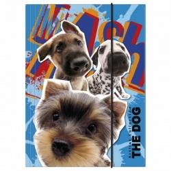 Desky s gumou složka na sešity A4 The Dog Pejsci
