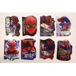 Tvarovaný notýsek A6 Spiderman