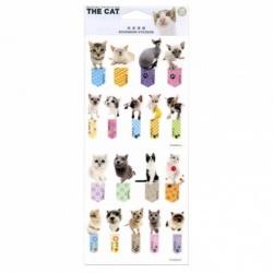 Samolepící záložky The Cat kočka