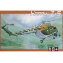 Vrtulník Harbin Z-5 1:72 Směr plastikový model ke slepení