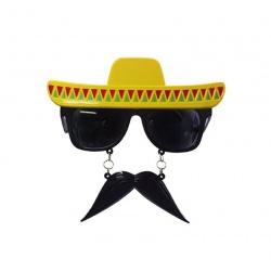 Párty brýle s knírkem - mexico