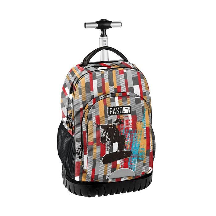 Cestovní batoh na kolečkách s vysouvací rukojetí Unique Snwbrd
