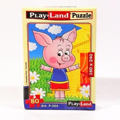 Pohádkové puzzle - Prasátko
