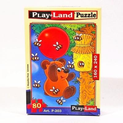 Pohádkové puzzle - Medvídek