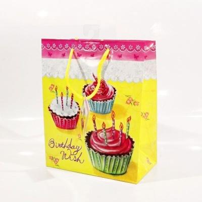 Dárková taška menší - cupcaky