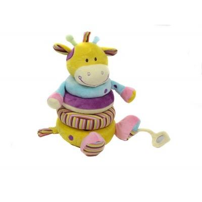 Plyšová hračka pro nejmenší - žirafa