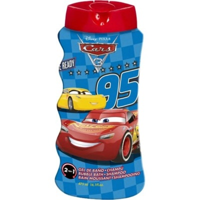 Cars 2v1 šampon a pěna do koupele