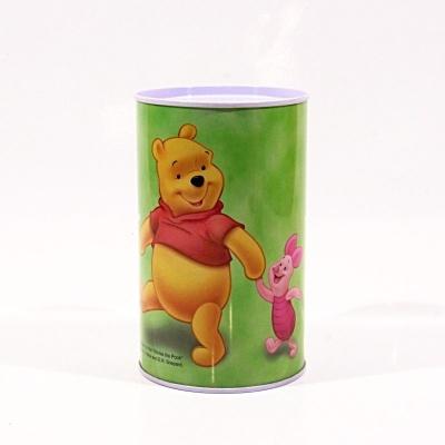 Pokladnička menší - Medvídek Pú zelená