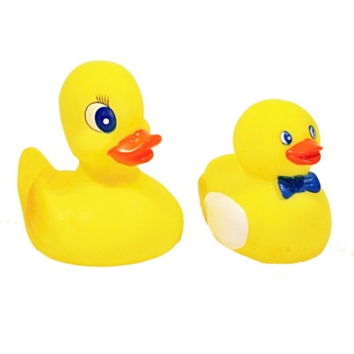 Hračky do vody pískací - kačenky 2ks